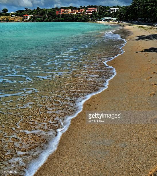 A Wave on the Beach