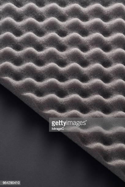 wave pattern accoustic foam - アコースティック音楽 ストックフォトと画像