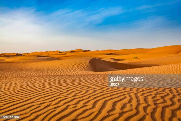 wave pattern desert landscape, oman - desert stock pictures, royalty-free photos & images
