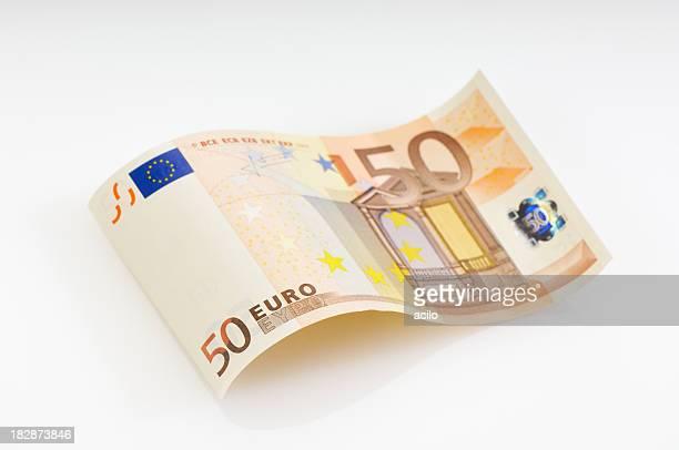 Hice billete de banco de cincuenta euros