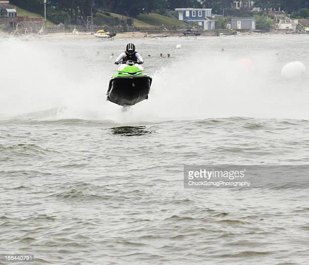 Jet Jet Ski Bateau Airborne