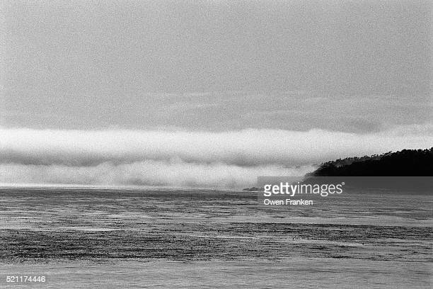 Waves Along the California Coast