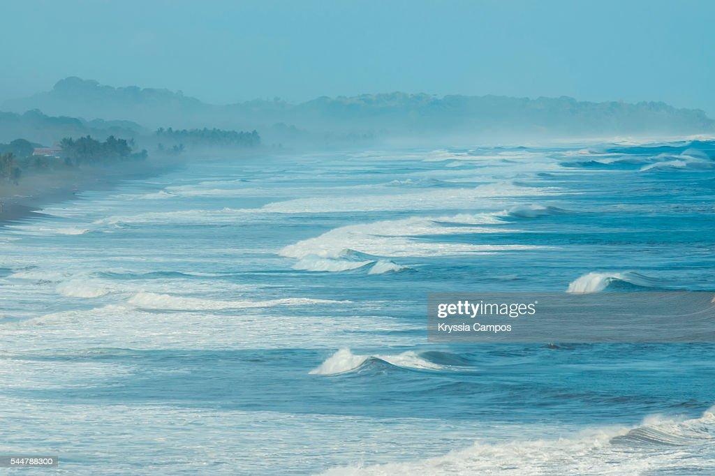 Waves at Playa Hermosa, Jaco, Costa Rica : Stock Photo
