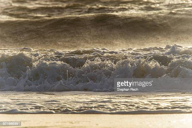 Waves at the beach, Sylt, Schleswig-Holstein, Germany