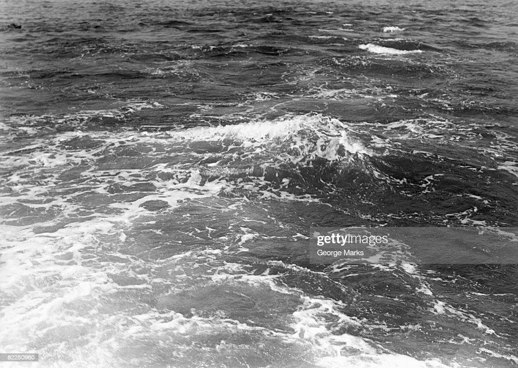 Waves, close-up : Stock Photo