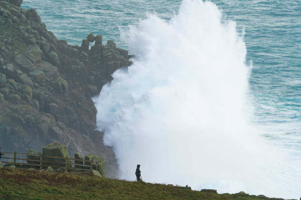 GBR: Storm Epsilon Batters The Cornish Coast