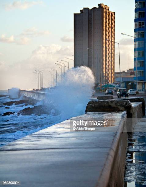 Waves Hit Malacon