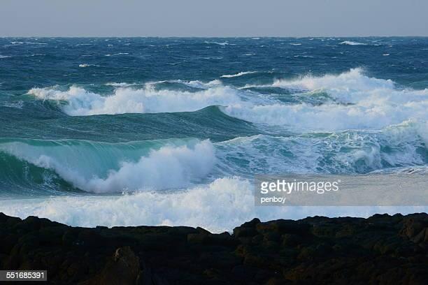 Waves in Jeju island