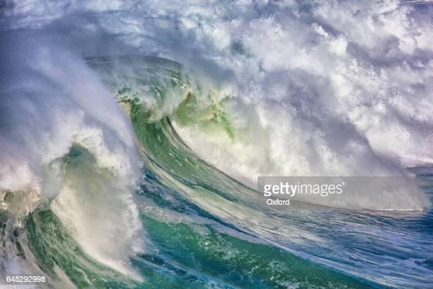 Vågorna i Stilla havet