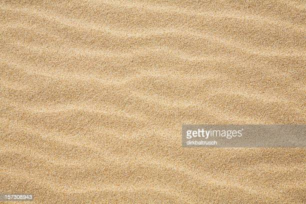 waves of sand - sand stock pictures, royalty-free photos & images