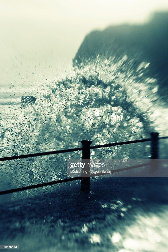 Waves splash : Stock Photo