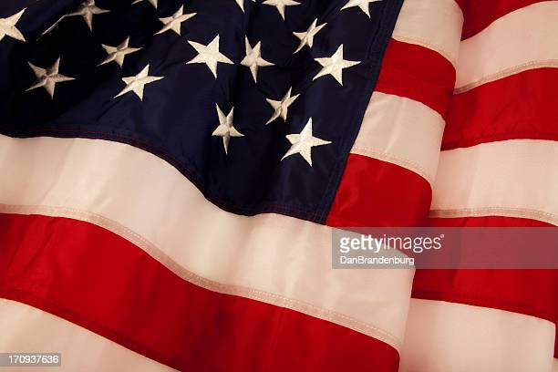 waving american flag - overexposed stock pictures, royalty-free photos & images