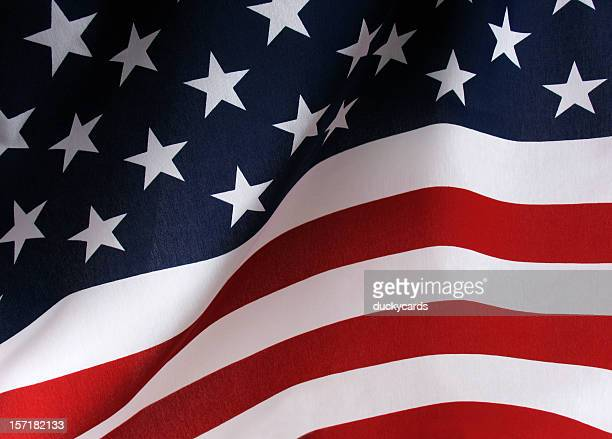 waving american flag usa background - american flag background stock pictures, royalty-free photos & images