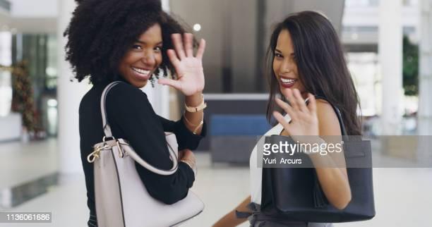 waving bad business practices goodbye - bella ciao foto e immagini stock