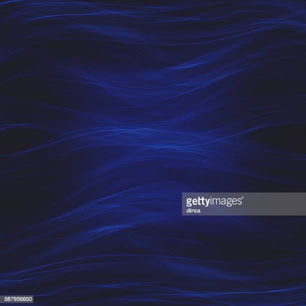 Wavy dark blue abstract background