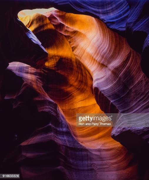 Wavy sandstone at Antelope Canyon Arizona