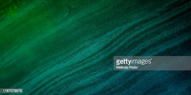 wavy texture in blue and green - オンブル ストックフォトと画像
