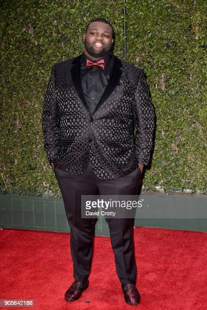 Wavyy Jonez attends the 49th NAACP Image Awards Arrivals at Pasadena Civic Auditorium on January 15 2018 in Pasadena California