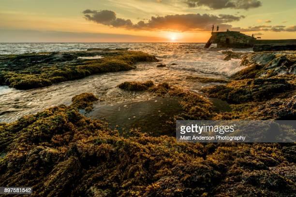 Wawaloli Beach Park Sunset #1