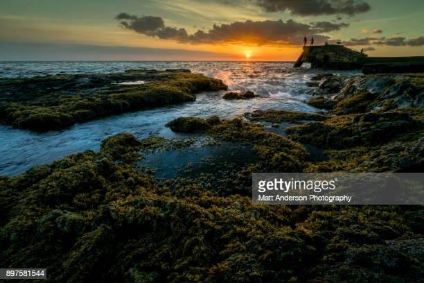 Wawaloli Beach Park Sunset #2