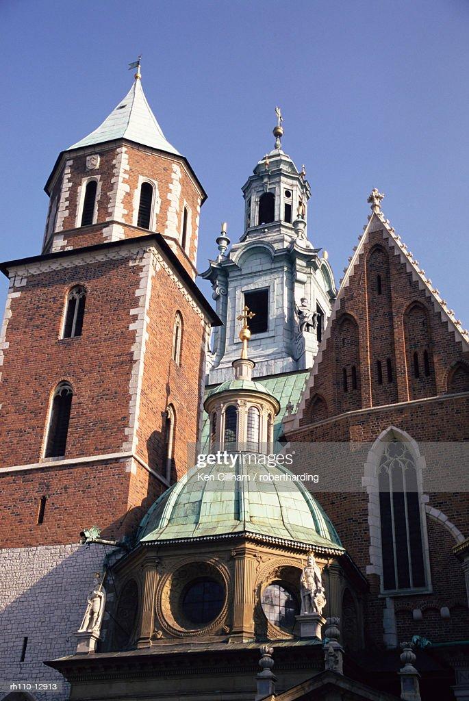 Wawel Cathedral, Krakow (Cracow), UNESCO World Heritage Site, Makopolska, Poland, Europe : Foto de stock