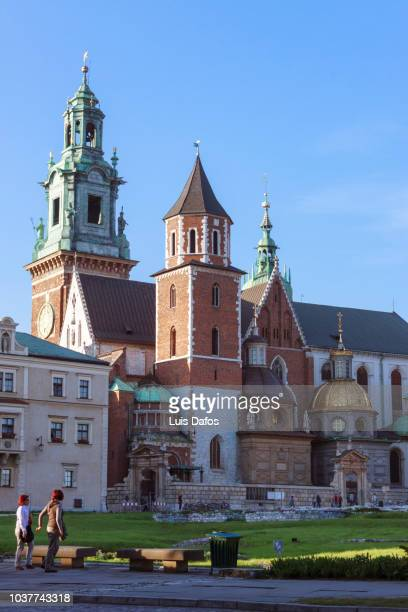 wawel cathedral - dafos stock photos and pictures