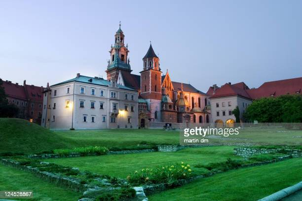 La noche de Cracovia hacia