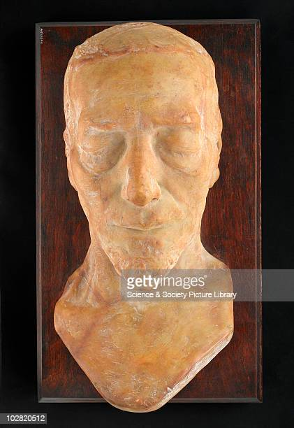 Wax death mask of Benjamin Disraeli England 1881 Wax death mask of Benjamin Disraeli 1st Earl of Beaconsfield taken six hours after his death by Sir...