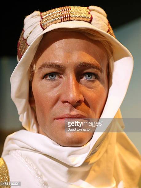 Wax figure of actor Peter O'Toole is displayed at Madame Tussauds on January 6, 2014 in Hollywood, California.