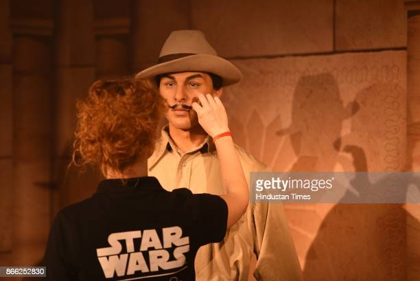 Wax figure of Indian revolutionary Bhagat Singh displayed at Madame Tussauds Museum situated in Regal Cinema building during its Press preview on...