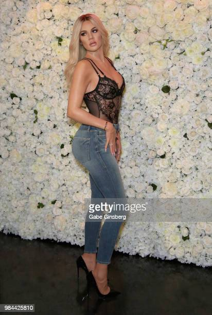 A wax figure of Khloe Kardashian is unveiled at Madame Tussauds Las Vegas at The Venetian Las Vegas on June 26 2018 in Las Vegas Nevada