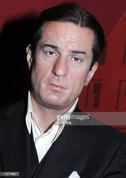A wax figure of Robert De Niro is displayed at Madame Tussaud's Wax Museum on July 29 2009 in Hollywood California