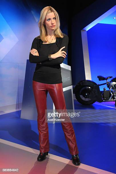 A wax figure of Sarah Michelle Gellar greets visitors Madame Tussauds located next to Graumans Chinese Theater on Hollywood Boulevard opens to the...