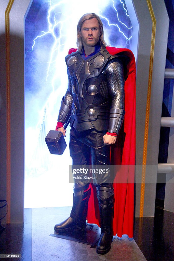 Madame Tussauds New York's Interactive Marvel Super Hero Experience : News Photo