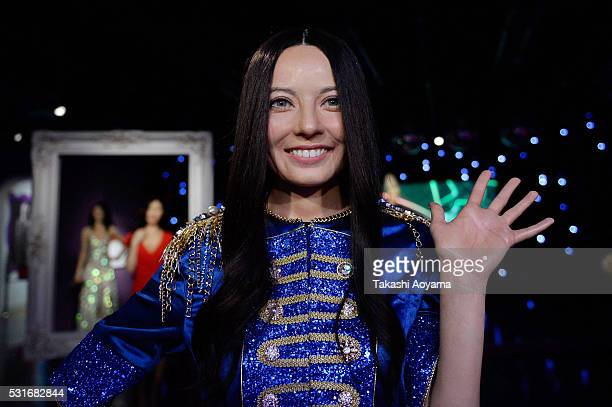 A wax figure of TV personality Becky is displayed at the Madame Tussauds Tokyo on May 16 2016 in Tokyo Japan Madame Tussauds wax museum in Tokyo's...