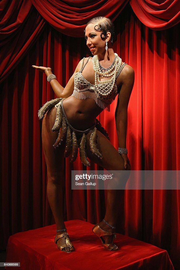 Josephine Baker Wax Figure at Madame Tussauds : News Photo