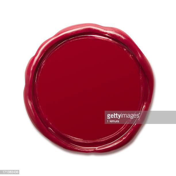 wax seal - royal stock photos and pictures