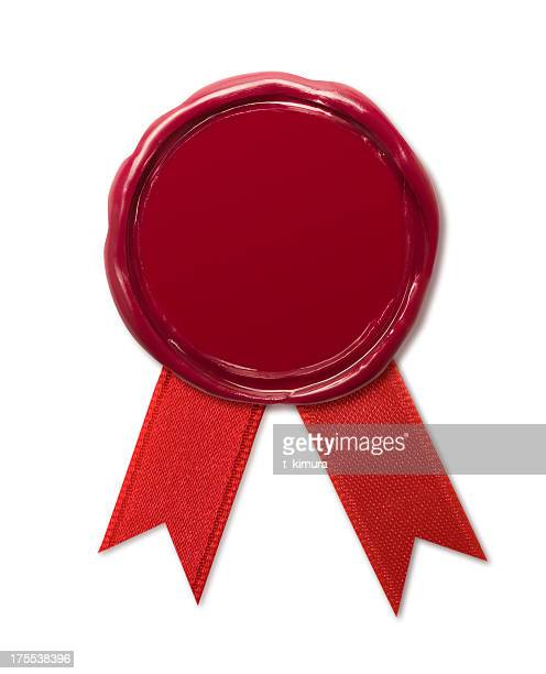 wax seal - permission concept stock pictures, royalty-free photos & images
