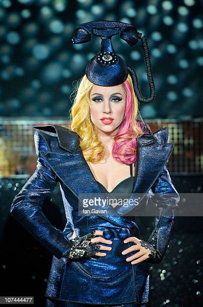 Waxwork figure of Lady Gaga is unveiled at Madame Tussauds on December 8, 2010 in London, England.