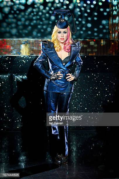 A waxwork figure of Lady Gaga is unveiled at Madame Tussauds on December 8 2010 in London England
