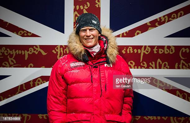A waxwork figure of Prince Harry in arctic clothing is unveiled at Madame Tussauds on November 13 2013 in London England Prince Harry will embark on...
