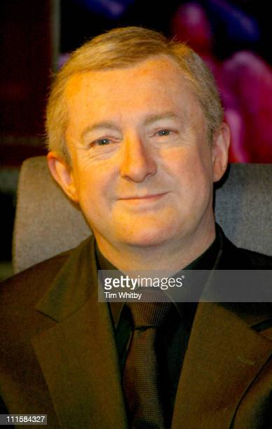 Waxwork model of Louis Walsh during 'The X Factor' Arrives at Madame Tussaud's Photocall at Madame Tussauds in London Great Britain