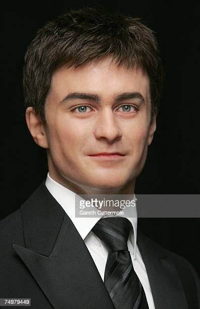 A waxwork of actor Daniel Radcliffe is unveiled at Madame Tussauds on July 2 2007 in London England The actor is famous for playing the character of...
