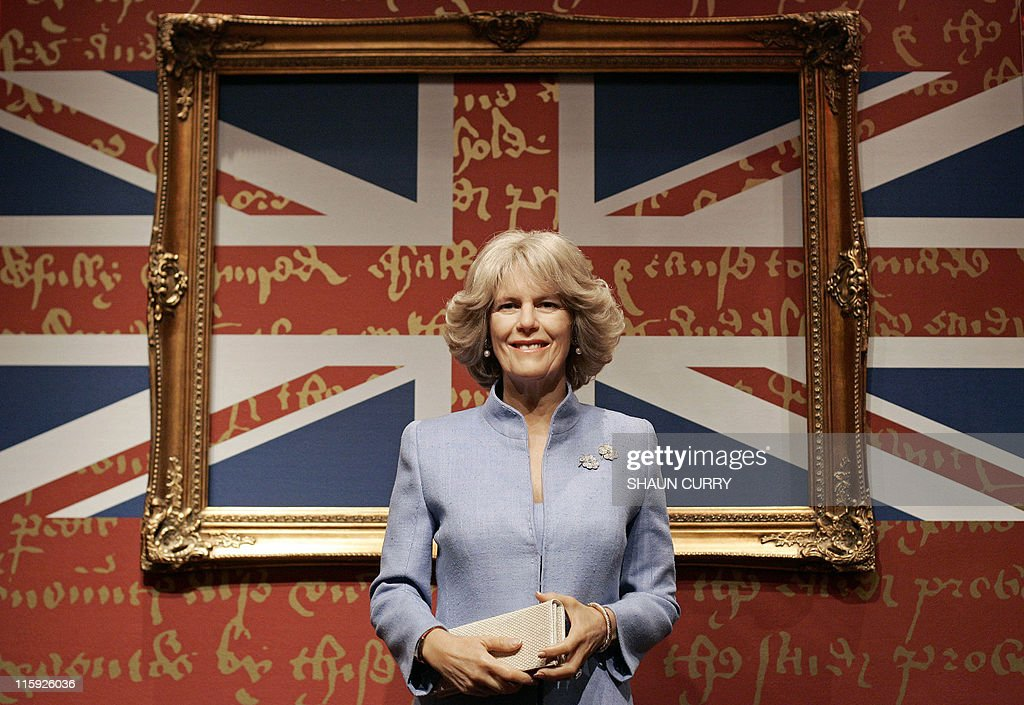 A waxworks model of Camillia, the Duches : News Photo