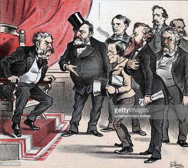 A way out of President Arthur's dilemma' Ulysses S Grant recommending to President Chester A Arthur some 'friends' of his as political appointees all...