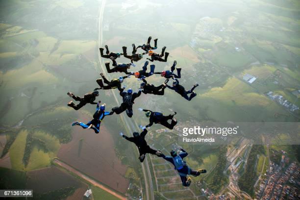 15 way skydive