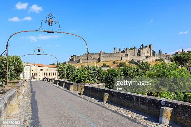 Way to Cité von Carcassonne