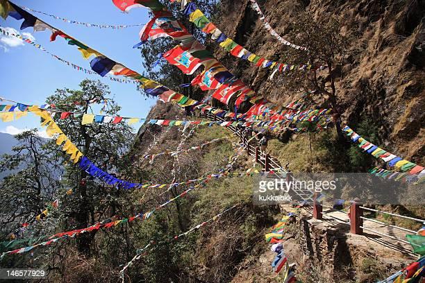 Way to Taktsang Palphug Monastery,Paro,Bhutan