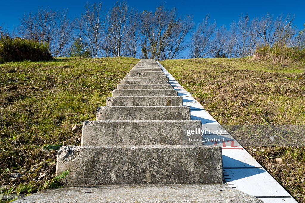 Way to the Sky : Stock Photo