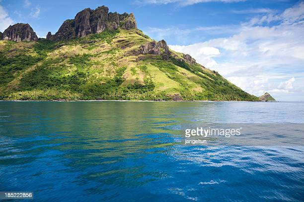 waya island in fiji - western division fiji stock photos and pictures